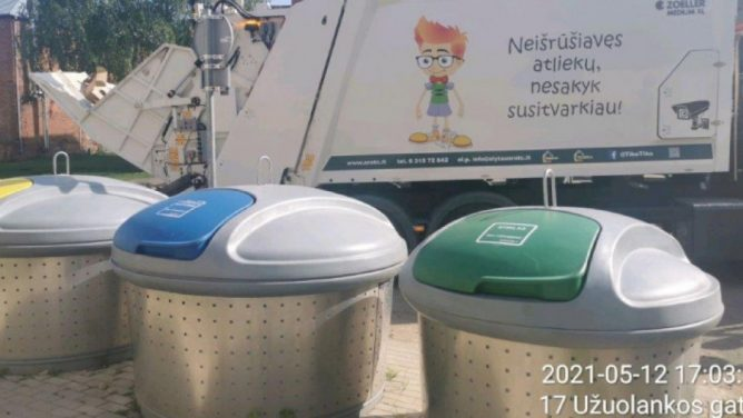 ARATC renka vežėjų neišvežtas atliekas, reikalauja paaiškinimų ir tvarkos