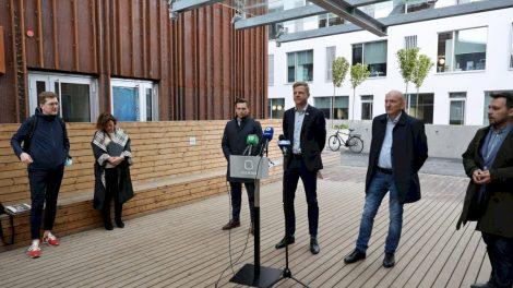 Vilnius pristatė gyvenamųjų rajonų atnaujinimo programą – keis gatves, kiemus ir namus