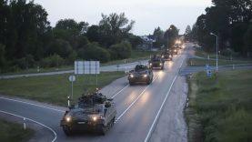 Lietuvos kariuomenė surengs parodomąjį žygį Lazdijuose ir Varėnoje