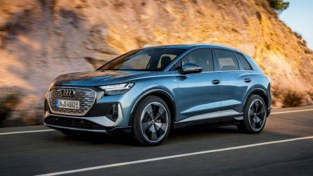 """Lietuvoje jau galima užsisakyti elektrinį SUV """"Audi Q4 e-tron"""""""