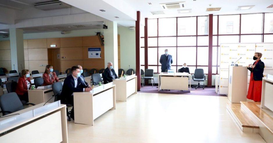"""Telšių savivaldybės atstovai domėjosi Miesto koordinavimo skyriaus ir """"Busturo"""" veikla"""