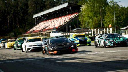 Po didelių nesėkmių lietuvis laimėjo abi Baltijos šalių žiedinių lenktynių čempionato lenktynes ir pagerino trasos rekordą