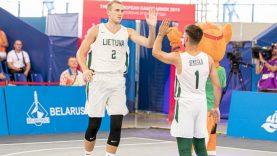Paaiškėjo dėl olimpinio kelialapio kovosiančios 3×3 krepšinio rinktinės sudėtis