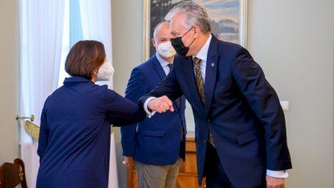 Europos Vadovų Taryboje kartu su Prezidentu – ir aplinkos viceministrė