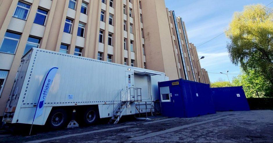 Respublikinėje Šiaulių ligoninėje pradedami modernaus magnetinio rezonanso tomografo instaliavimo darbai