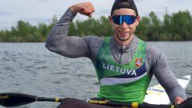 Baidarininkas M. Maldonis iškovojo olimpinį kelialapį (atnaujinta gegužės 22 d.)
