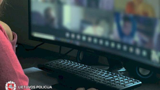 Per nuotolinę pamoką pornografiją demonstravęs jaunuolis gavo baudą ir neteko kompiuterio