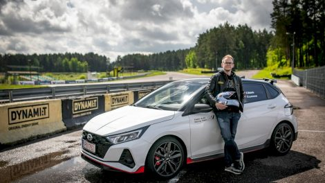 """""""Hyundai i20 N"""" debiutui Lietuvoje pasirinktas """"Press ralis"""""""