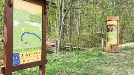 "<i class=""fa fa-map-marker"" aria-hidden=""true""></i> Nemokamos ekskursijos Vidzgirio botaniniame draustinyje"