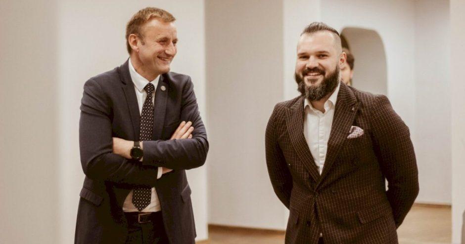 Meras susitiko su naujuoju Šiaulių jaunųjų technikų centro direktoriumi