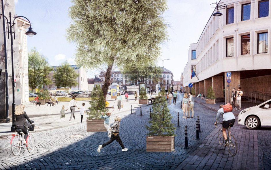 Apklausa: kaip jaučiatės judėdami Vilniaus gatve?