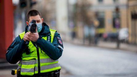 Klaipėdos apskr. Kelių policijos savaitės rezultatai – 3 neblaivūs vairuotojai ir 900 greičio viršijimo atvejų