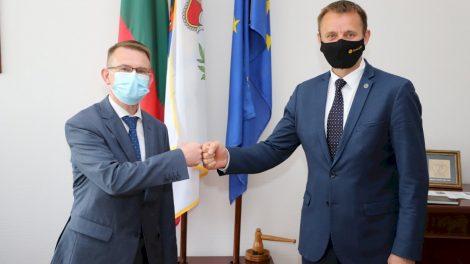 Šiauliuose lankėsi sveikatos apsaugos ministras