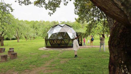 Informacinis kupolas kviečia geriau pažinti Obelynę
