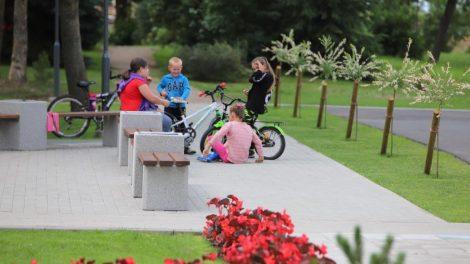 Pakaunėje daugėja parkų, gražėja viešosios erdvės