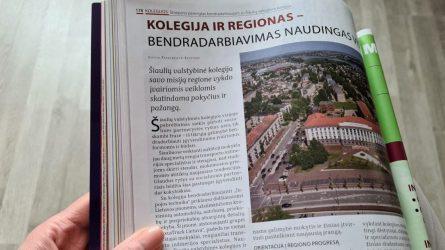 Kolegija ir regionas – bendradarbiavimas naudingas visiems