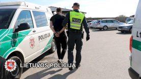 Uostamiestyje sulaikyti 5 asmenys įtariami vagystėmis iš automobilių