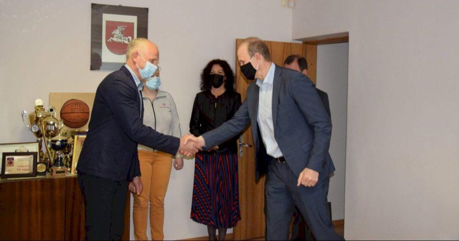 Darbą pradėjo naujasis Vilkaviškio rajono sporto mokyklos vadovas