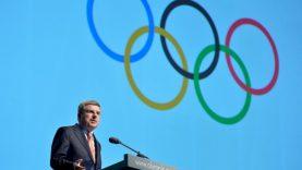 """TOK prezidentas Thomas Bachas: """"Svarbiausia, kad varžybos Tokijuje vyks saugiai"""""""