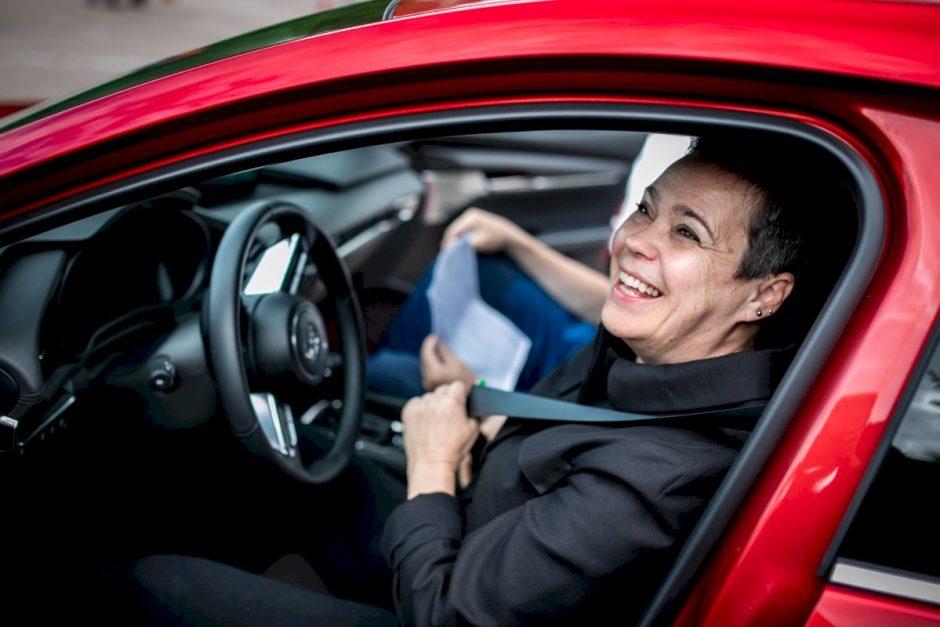 Nomeda Marčėnaitė ekstremalų važiavimą siūlytų įtraukti į vairuotojų mokymus