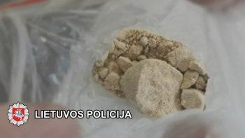 Uostamiestyje baigtas didelės apimties tyrimas dėl narkotinių medžiagų platinimo dideliais kiekiais