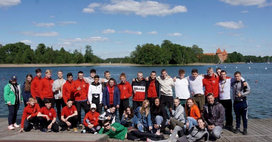 Panevėžio irkluotojai iš Lietuvos jaunių ir jaunimo čempionato grįžo su pergalėmis