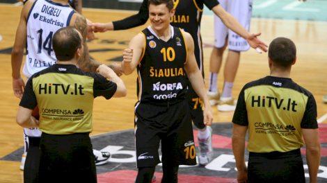 Šiaulių  vyrų krepšinio komanda sieks geresnių rezultatų