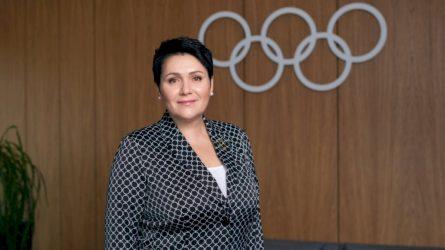 Įvertinimas Lietuvai: D. Gudzinevičiūtė išrinkta Europos olimpinių komitetų asociacijos viceprezidente