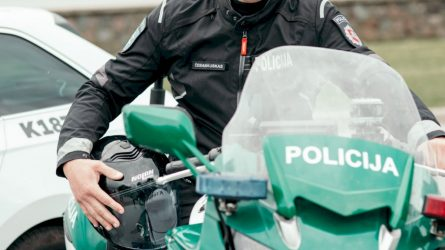 Įsibėgėjęs motociklų sezonas – iššūkis ir policijos pareigūnams