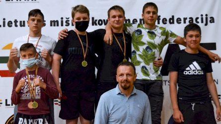 """Sporto klubas """"Pantera"""" Atvirame Jurbarko MMA/ K-1 čempionate"""" komandinėje rungtyje tapo čempionais"""