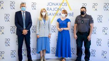 Jonavoje sutartimi įtvirtintas institucijų atsako į smurtą artimoje aplinkoje algoritmas