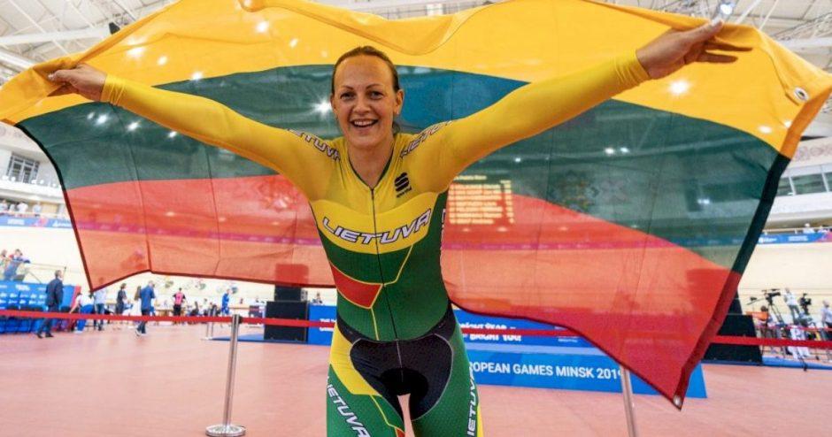 Treko dviratininkė Simona Krupeckaitė