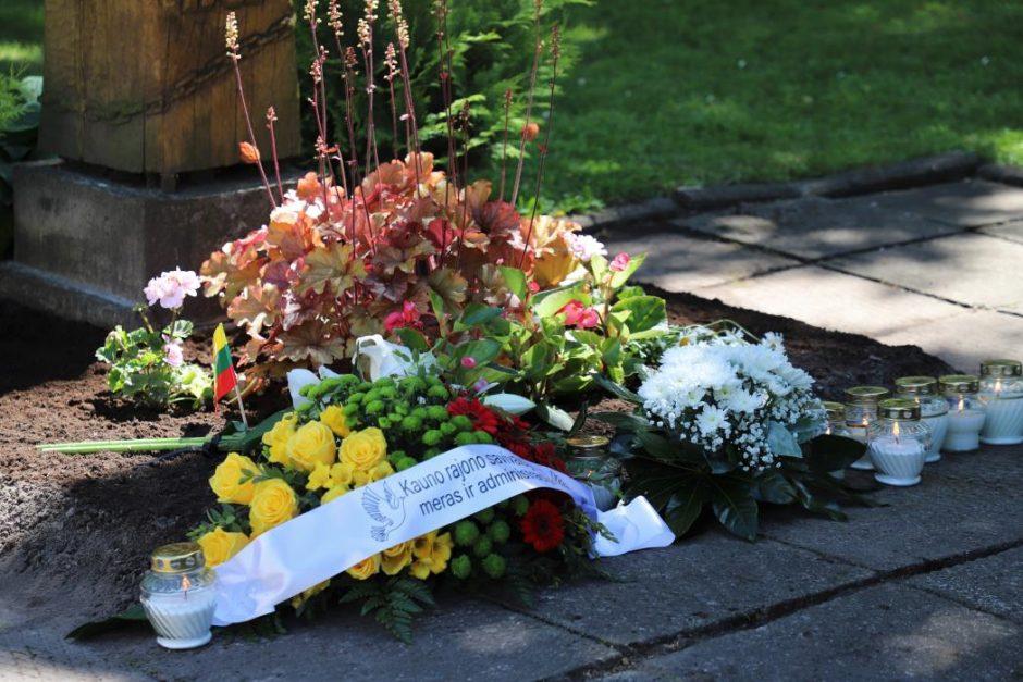 Kauno rajone paminėtos 80-osios tremties metinės