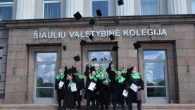Šiaulių valstybinėje kolegijoje teikiami diplomai