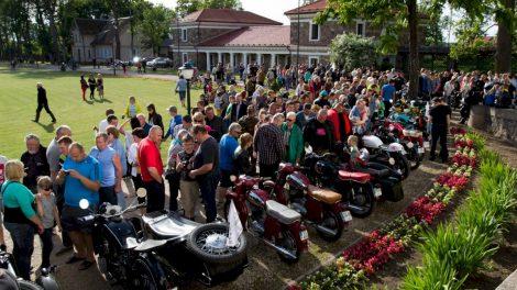 Biržiečius ir krašto svečius džiugins seni motociklai
