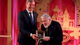Vilniaus meras R. Šimašius – prof. V. Landsbergiui: pagerbiame tai, ką turime gerbti iki kaulų smegenų