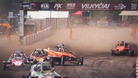 Į Lietuvą užsukęs Europos autokroso čempionatas su pandemijos randais