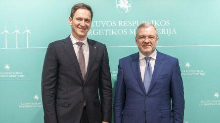 Lietuvos ir Ukrainos energetikos ministrai patvirtino strateginės energetinės partnerystės svarbą stiprinant abiejų šalių energetinę nepriklausomybę ir saugumą