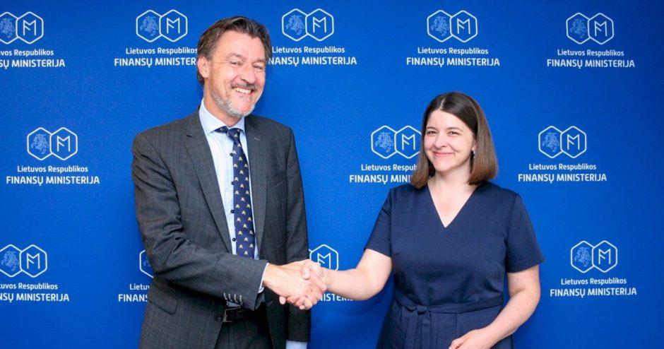 """Finansų ministrė G. Skaistė: """"Lietuva palaiko tarptautinių pelno apmokestinimo principų peržiūrėjimą"""""""