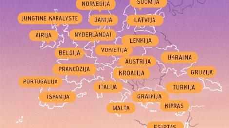 Lietuvos oro uostuose birželį pasiūlytas 71 tiesioginis maršrutas, liepą skrydžių krypčių skaičius dar augs