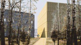 Vilniuje pradedama LMTA studijų miestelio statyba