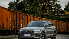 """""""Audi"""" plečia Q modelių šeimą – naująjį """"Q5 Sportback"""" galima įsigyti ir Lietuvoje"""