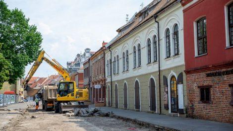 Nuo tarpukario neliestų Vilniaus gatvės požeminių tinklų laukia kardinalūs pokyčiai: efektas pasijus visame mieste