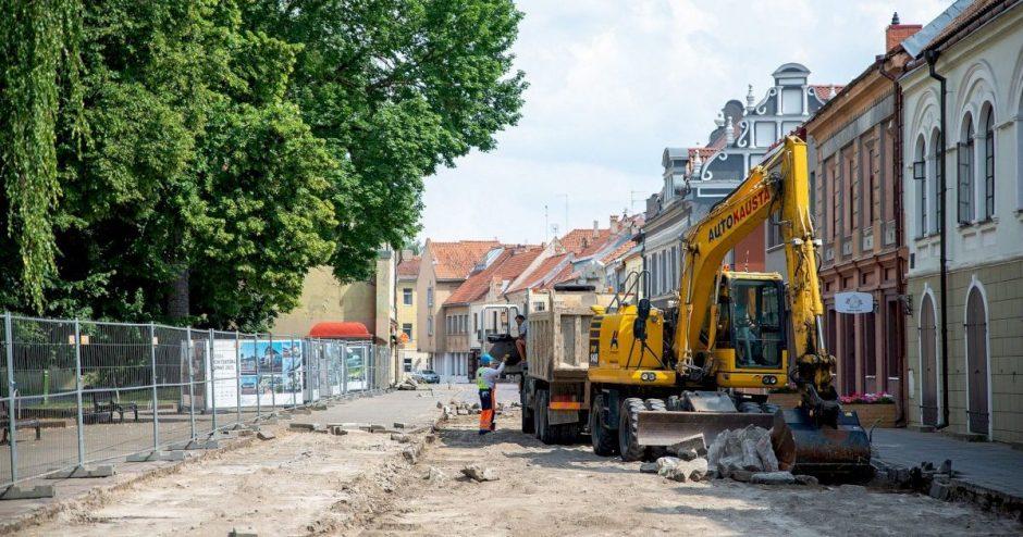 """Verslininkas E. Kolevaitis apie Vilniaus gatvės kapitalinį remontą: """"Skausminga, bet labai reikalinga"""""""