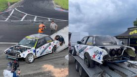 BMW apvertęs Aurimas Vaškelis Kuršėnuose tikisi baigti nesėkmių maratoną