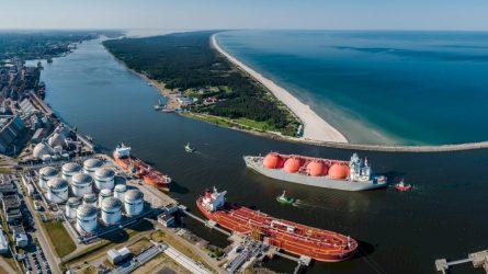 Klaipėdos valstybinio jūrų uosto direkcijos 30-metis žymi naują Malkų įlankos pradžią