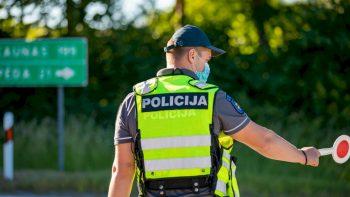 Klaipėdos apskrities Kelių policijos priemonių rezultatai – 13 neblaivių vairuotojų ir pareigūnų reikalavimui sustoti nepaklusęs motociklininkas