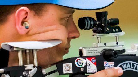 """Olimpinėse žaidynėse debiutavęs šaulys Karolis Girulis: """"Esu laimingas"""""""