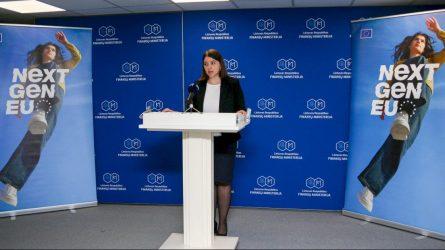 """Finansų ministrė G. Skaistė: """"Žengtas svarbus žingsnis kuriant """"Naujos kartos Lietuvą"""""""