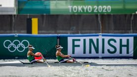 Lietuvos irkluotojos Tokijo žaidynėse iškovojo ketvirtąją vietą
